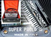 Аккордеон- PAOLO SOPRANi SUPER PAOLO III TOP iTALY