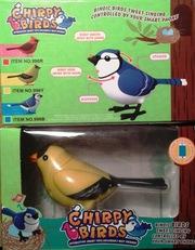 Интерактивная птичка канарейка 46403