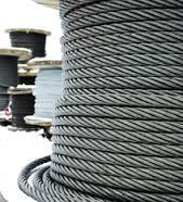 Трос для подъемных установок металлургической промышленности,  на судах