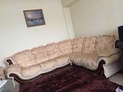 Продам мягкий раскладной диван с креслом