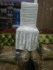 Чехол резинка на стулья велюр
