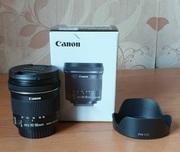 Сверхширокоугольный объектив Canon EF-S 10-18mm